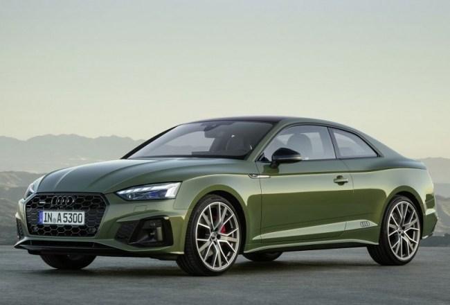 Audi A5: симпатичне купе. Audi A5 Coupe