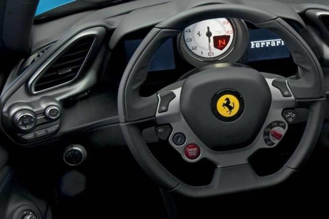 Ferrari 488 – шикарный заднеприводный суперкар. Ferrari 488 Spider