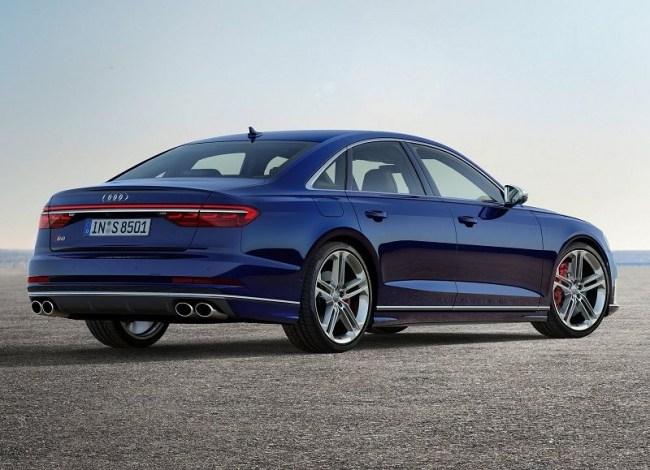Audi S8: мощный седан премиального уровня. Audi S8
