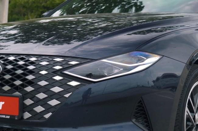 Hyundai Grandeur оптика