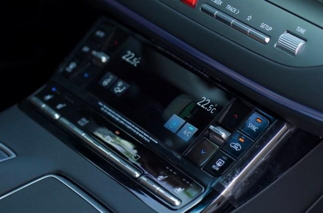 Hyundai Grandeur блок управления климатической системой