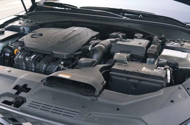 Hyundai Grandeur двигатель