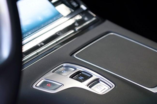 Hyundai Grandeur кнопки переключения передач