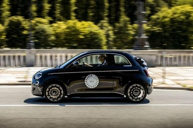 Электро в стиле ретро. Fiat 500e Cabrio. Fiat 500e Cabrio