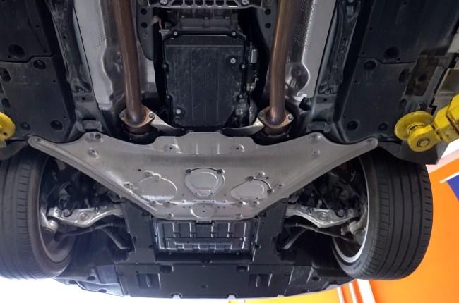 Lexus LC 500h подвеска