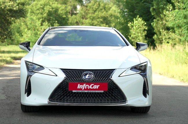 Lexus LC 500h: sports car for every day