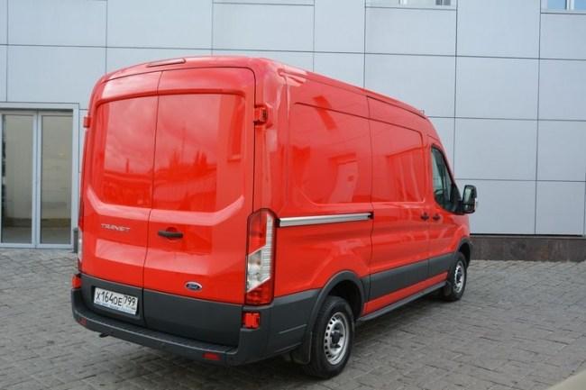 Ford Transit: реальный фургон. Ford Transit