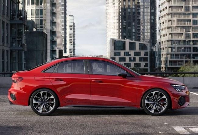 Audi S3 Sedan: Комфортный спортивный седан. Audi S3 Sedan (8Y)