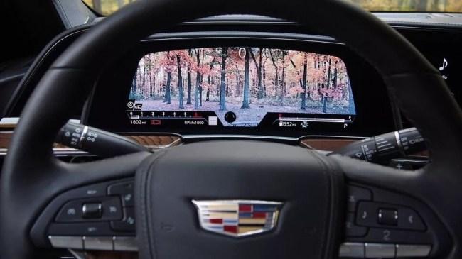 Флагман из США. Cadillac Escalade. Cadillac Escalade