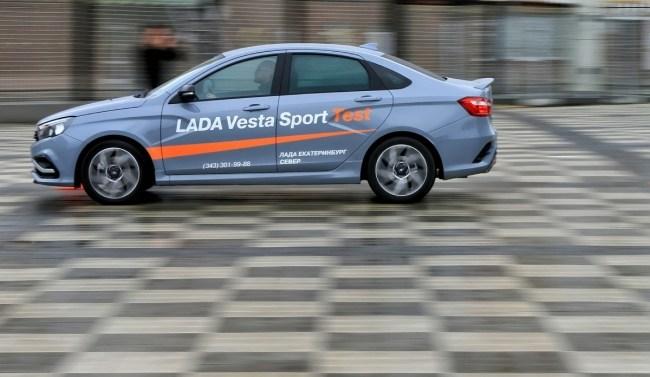 Какой смысл в Vesta Sport и есть ли он вообще. ВАЗ Lada Vesta Sport