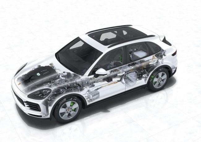 Porsche Cayenne E-hybrid. Прости, Рудольф!. Porsche Cayenne E-Hybrid (PO536/9YA)