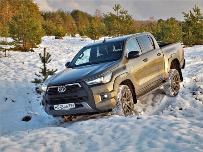 Toyota HiLux – Простор для творчества. Toyota Hilux