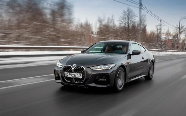 Новая BMW 4: три мнения о купе, которое критикуют за ноздри. BMW 4 Series Coupe (G22)