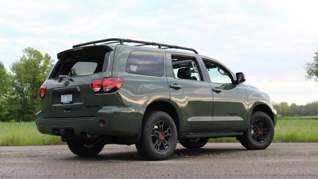Toyota Sequoia TRD Pro: дорожный тест. Toyota Sequoia