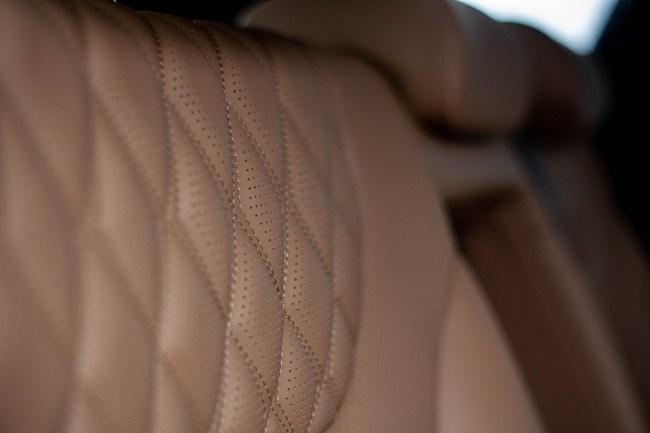 Hyundai Santa Fe кожзам на сиденьях