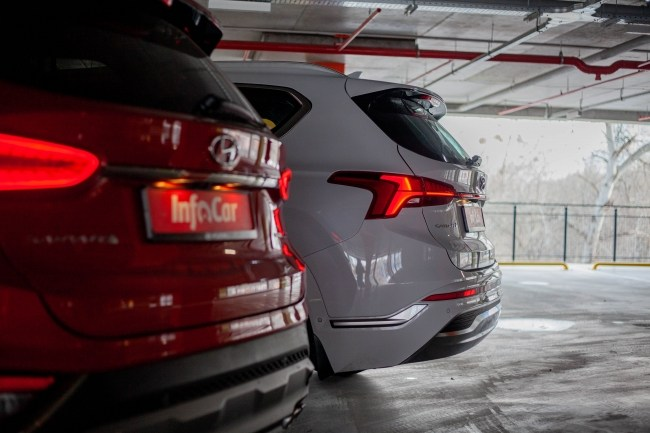 Hyundai Santa Fe задние фонари