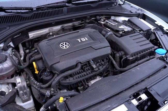 Volkswagen Jetta GLI двигатель