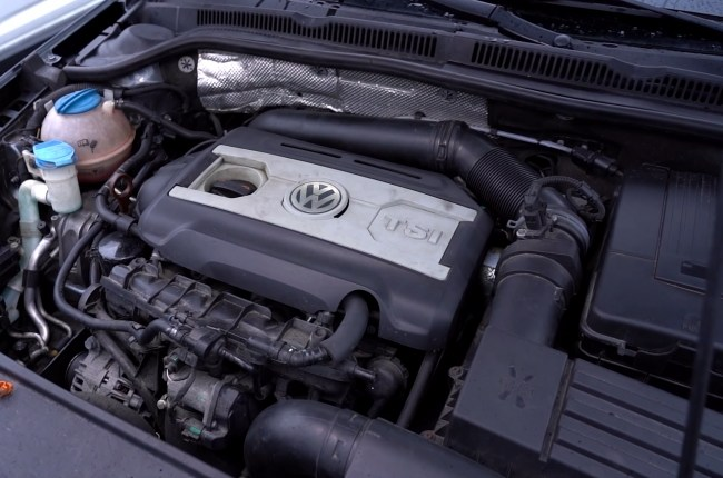 Volkswagen Jetta GLI двигатель предыдущей версии