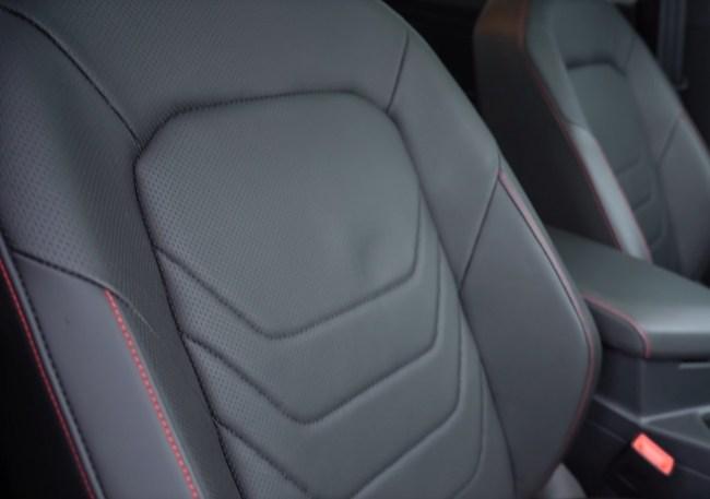 Volkswagen Jetta GLI сиденья