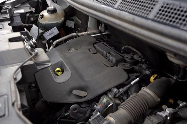 Opel Zafira Life двигатель