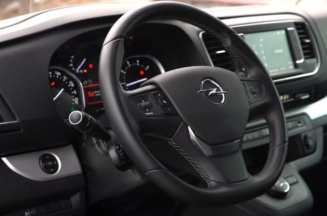 Opel Zafira Life руль