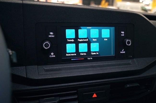 Volkswagen Caddy мультимедийная система
