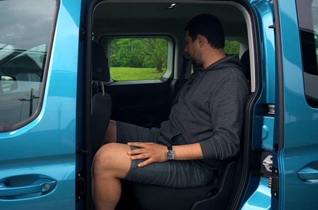 Volkswagen Caddy второй ряд сидений