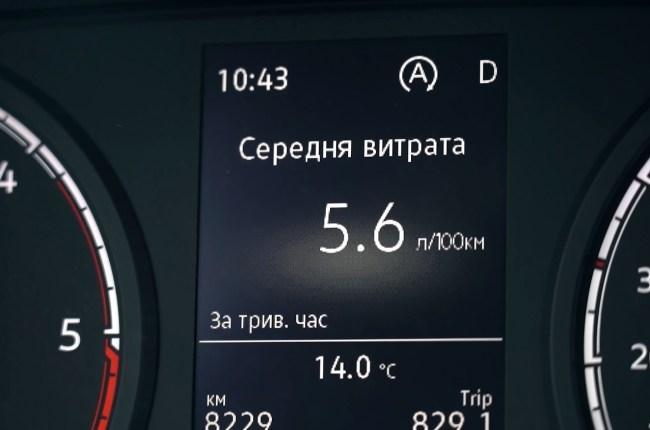 Volkswagen Caddy расход топлива