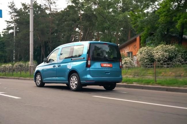 Volkswagen Caddy в городе