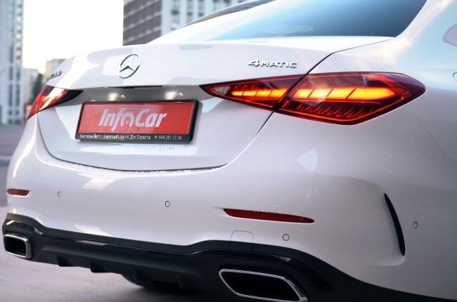 Mercedes-Benz C-Class задние фонари