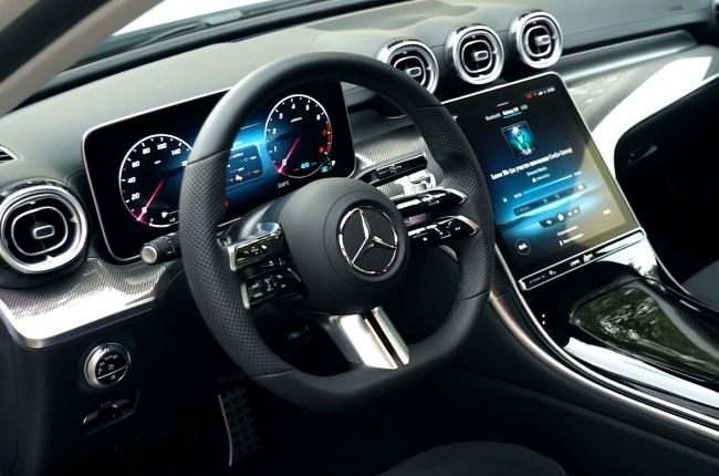 Mercedes-Benz C-Class руль