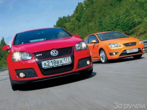 что лучше: volkswagen golf или ford focus