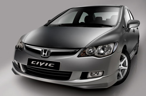 Honda Civic 4D - тест-драйв