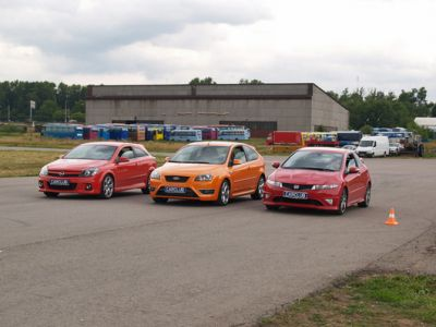 Honda+Ford+Opel: Redness (покраснение)