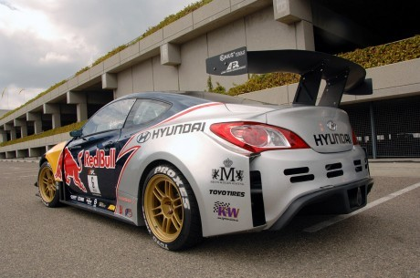 MR Red Bull Hyundai Genesis Coupe