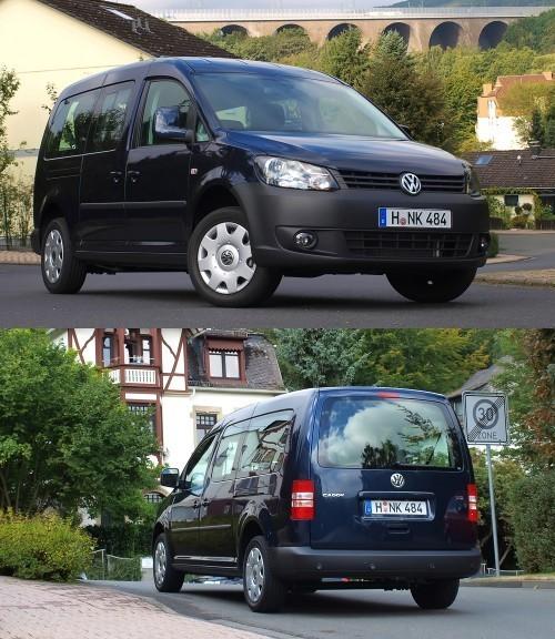 Тест-драйв Volkswagen Caddy Kombi  Новый фасон каблука bed7d934a266f