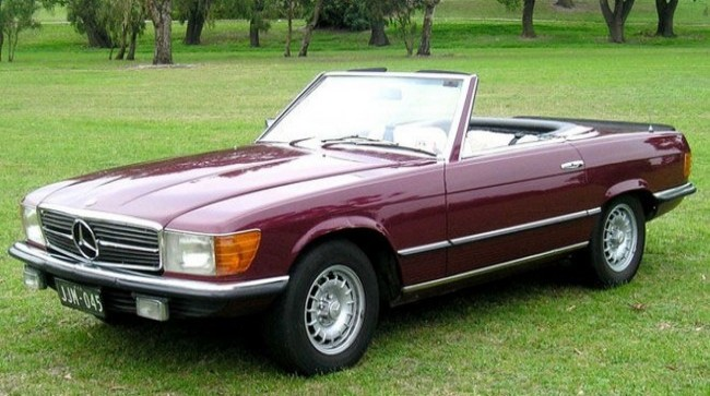 Mercedes-Benz 350SL (R107)
