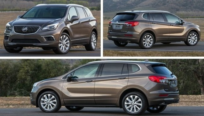 Buick Envision 2016 года