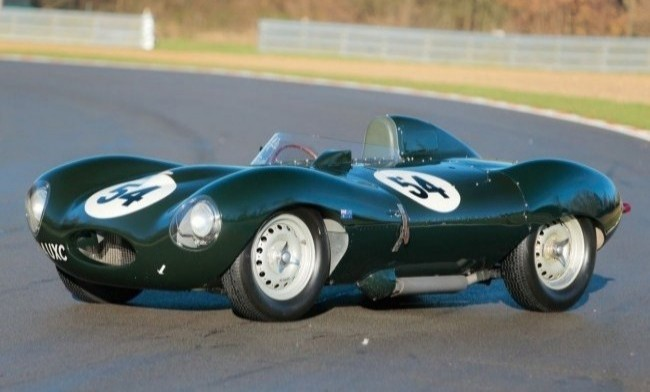 Jaguar D-Type 1954 год