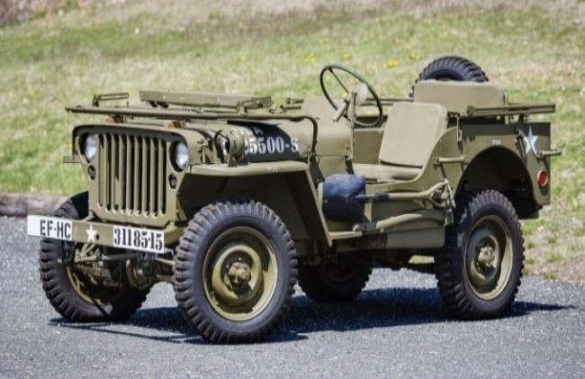 Willys MB, 1942 год