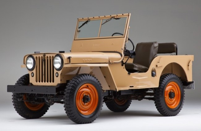 Willys CJ-2A, 1945 год