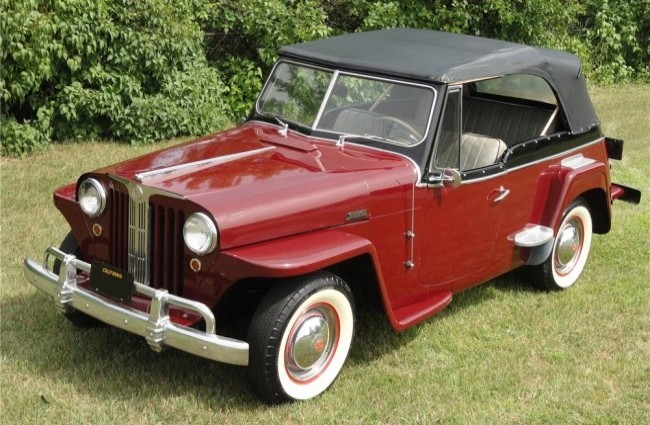 Willys Jeepster Convertible, 1949 год