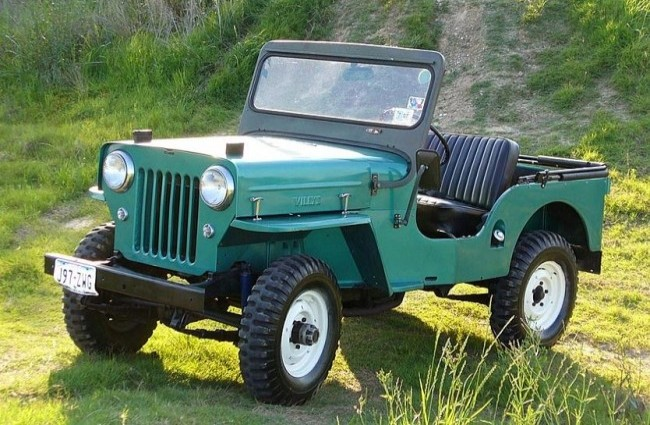 Willys CJ-3B, 1953 год