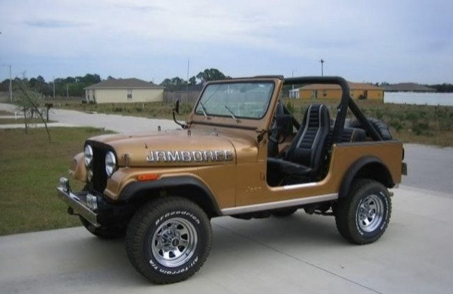 Jeep CJ-7 Jamboree Commemorative Edition, 1982 год