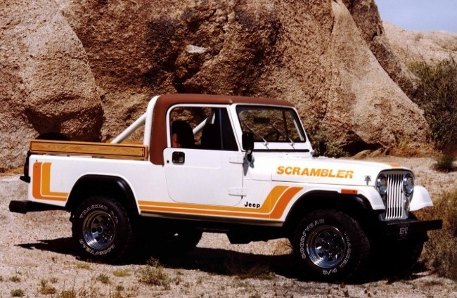 Jeep CJ-8 Scrambler, 1981 год