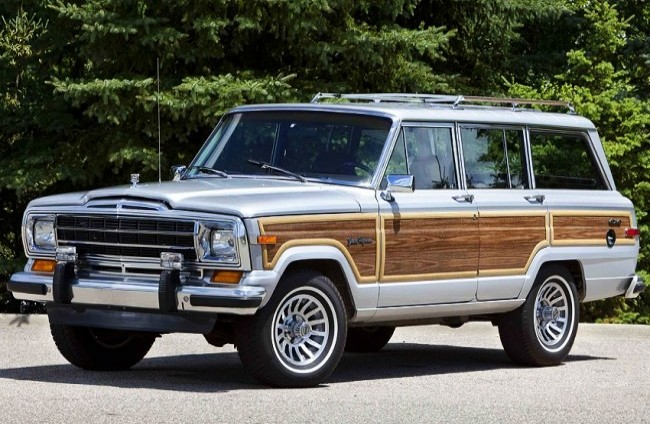 Jeep Grand Wagoneer Final Edition, 1991 год