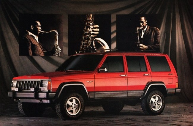 Jeep Cherokee Limited, 1990 год