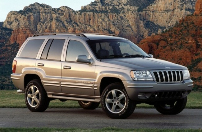 Jeep Grand Cherokee (WJ), 1999 год