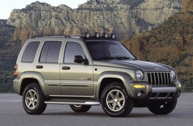 Jeep Cherokee/Liberty (KJ), 2002 год
