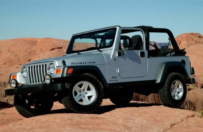 Jeep Wrangler Rubicon, 2003 год